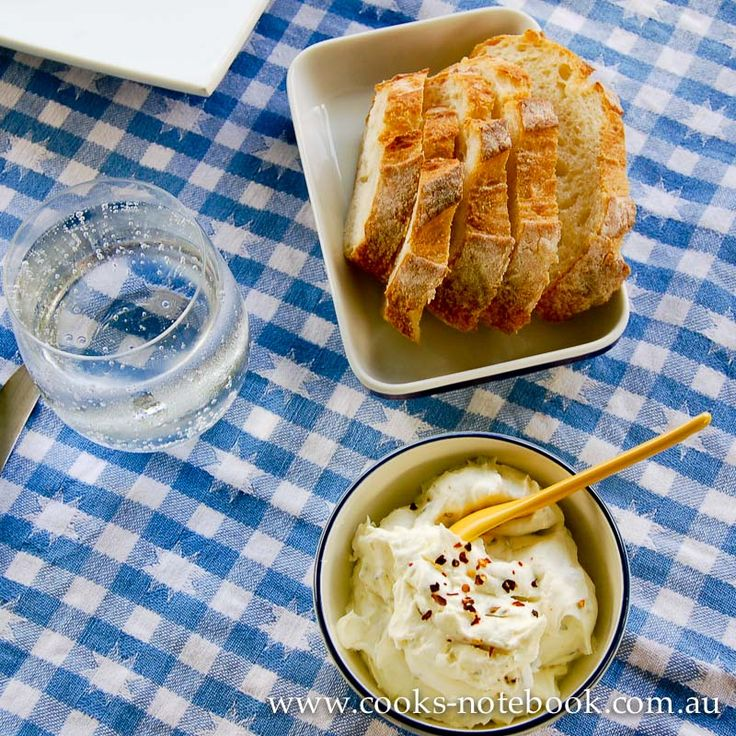 Labneh is often referred to as yogurt cheese, but really it's just really thick and strained yogurt with various bits and pieces mixed through it
