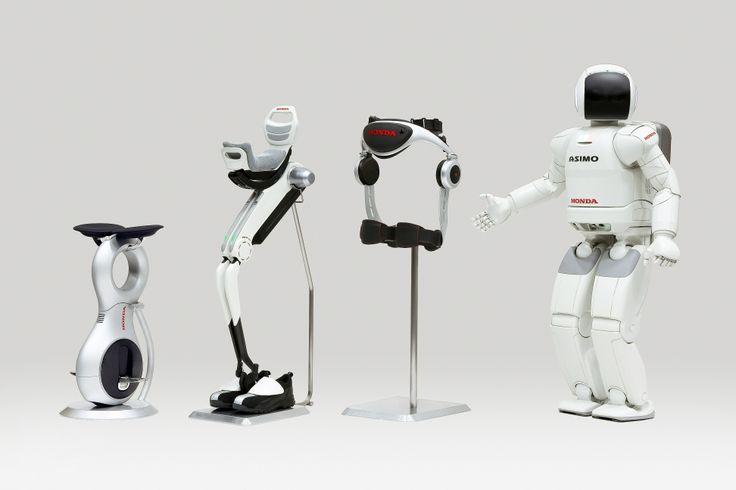 Honda's #robotics #technology (Left to Right): U3-X, Bodyweight ...