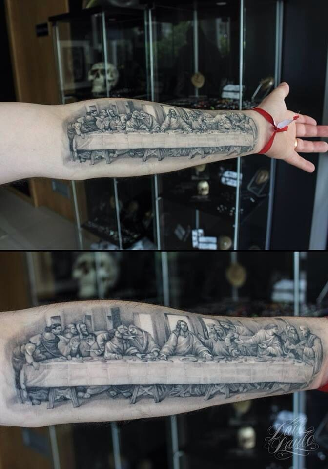 Great tattoo of the La...