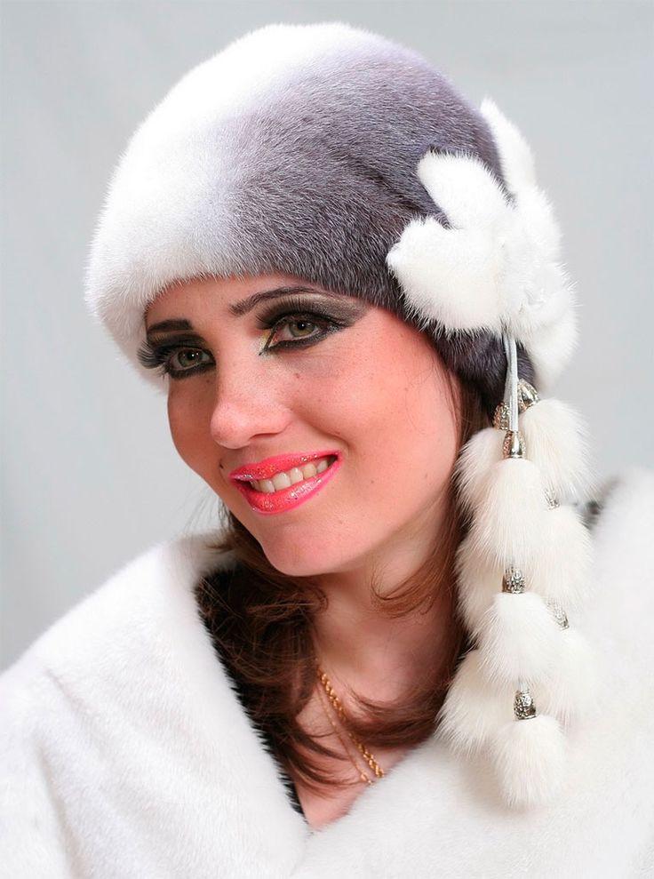 модные женские меховые шапки 2016, зимние шапки фото