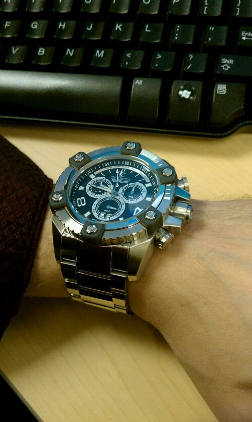 Invicta Watch Reviews Invicta Arsenal On Wrist Review