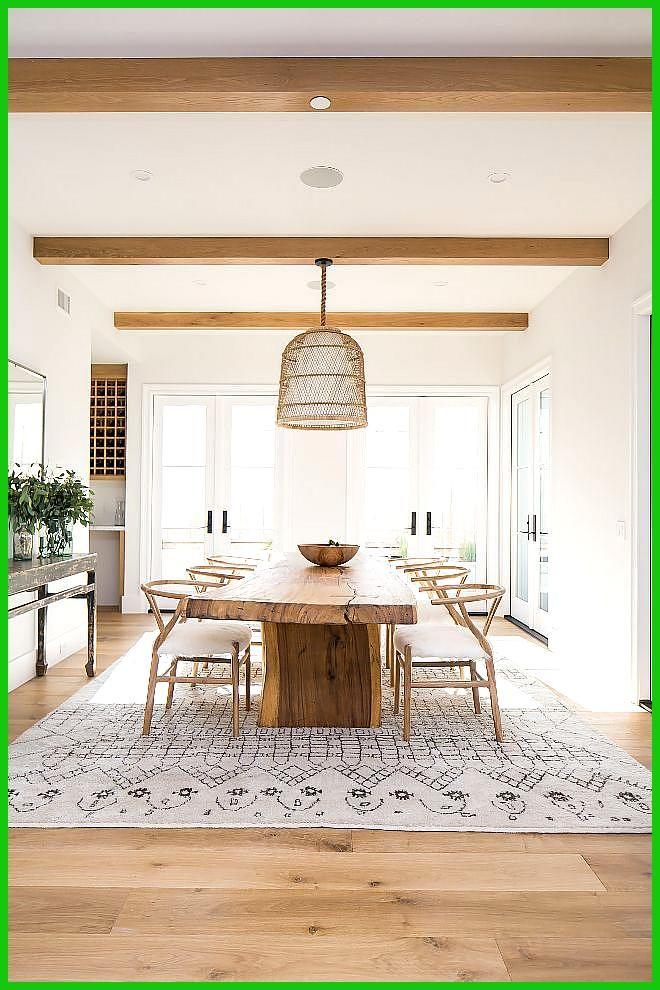 Benjamin Moore White Isn T This Modern Farmhouse Dining Room