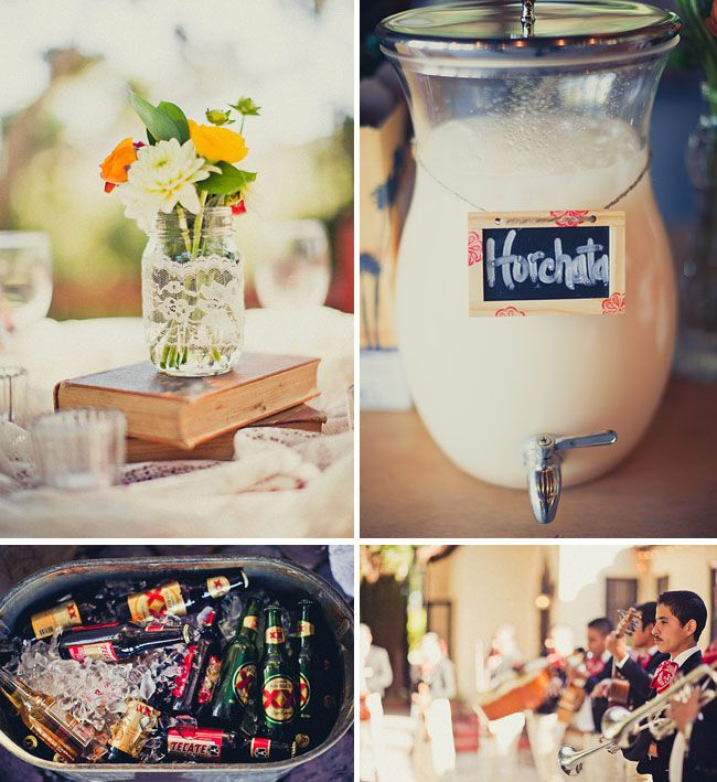 Real Wedding: Vanessa + Chris' Vintage Spanish Wedding *The theme came to me a few nights ago and when I saw this.... yup.