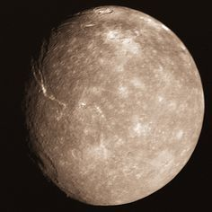 Uranus' Largest Moon Titania