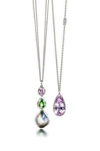 Gemstone pendants   Atelier Torbjörn Tillander