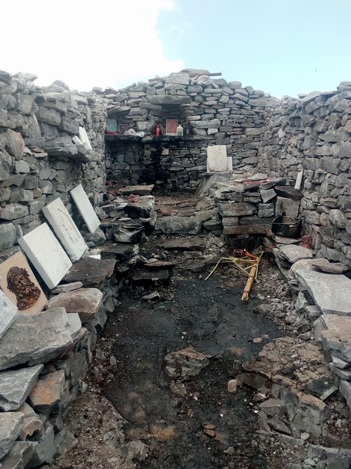 Αποκαταστάθηκαν οι ζημιές στο εκκλησάκι του Προφήτη Ηλία στην κορυφή του Ταϋγέτου