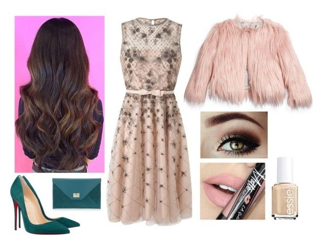 """""""Untitled #67"""" by oken-demir on Polyvore featuring Jimmy Choo, Christian Louboutin, Valentino, Appaman, Fiebiger, Essie, women's clothing, women, female and woman"""