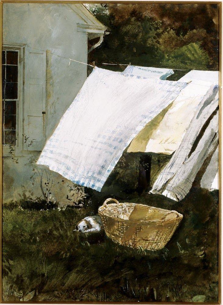 Light Wash (1961), de Andrew Wyeth.