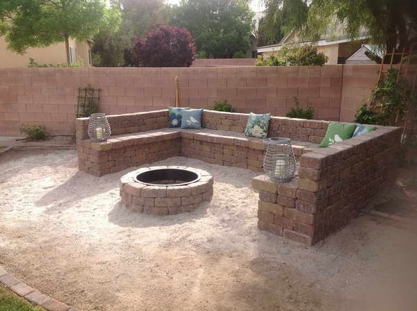 17 Best Ideas About In Ground Fire Pit On Pinterest