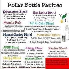 Young Living Essential Oils: ADHD Anxiety Calm Clarity Headache Healing Muscle Motivation Sleep