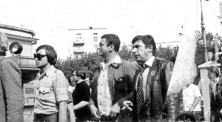 Г.Горин, И.Кваша. Ваганьково, 28 июля 1980 года.<br />