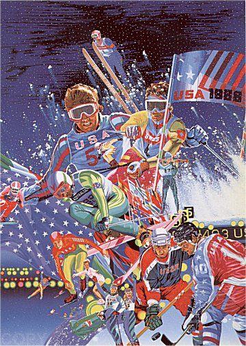 1988 Winter Olympic Games  Hiro Yamagata