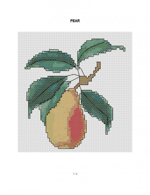 277 Best Images About Crafts Cross Stitch Food On