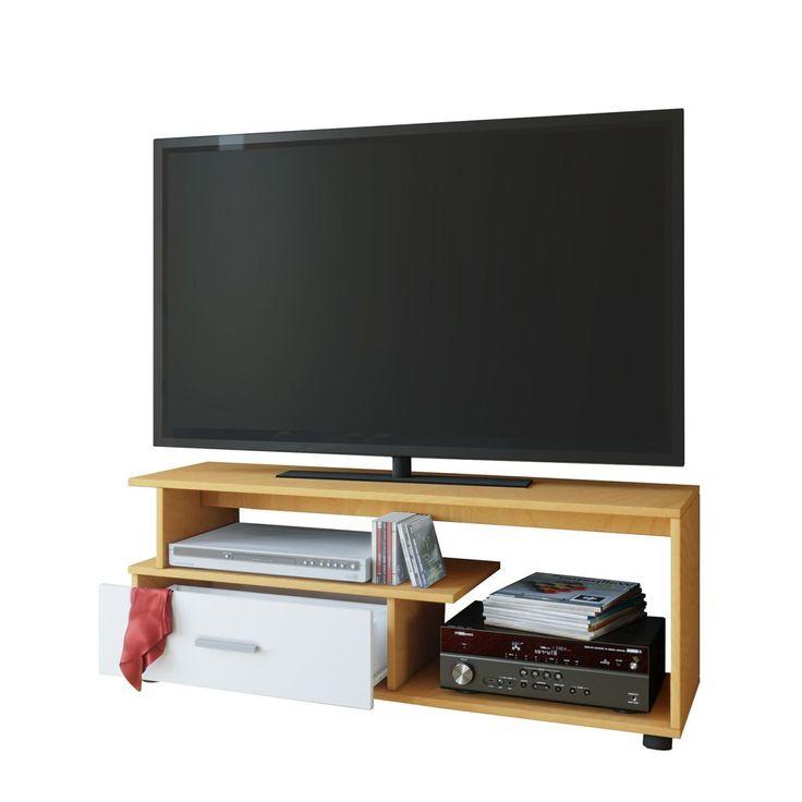 TV-Lowboard Rimini - Buche Dekor, Vcm Jetzt bestellen unter: https://moebel.ladendirekt.de/wohnzimmer/tv-hifi-moebel/tv-lowboards/?uid=ecf45e54-0fb4-5994-bf58-7945038fc5dd&utm_source=pinterest&utm_medium=pin&utm_campaign=boards #möbel #vcm #kommoden #tvlowboards #wohnzimmer #sideboards #tvhifimoebel Bild Quelle: home24.de