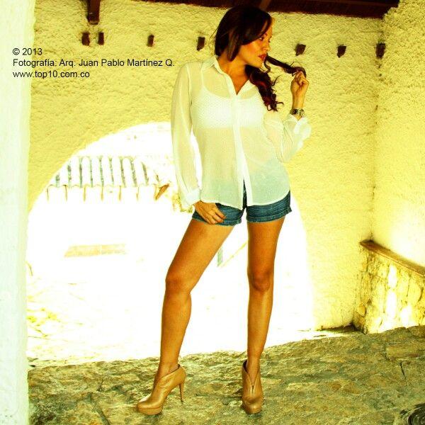 Iniciando una serie de fotografias con Kmiranda mi querida y exclusiva modelo