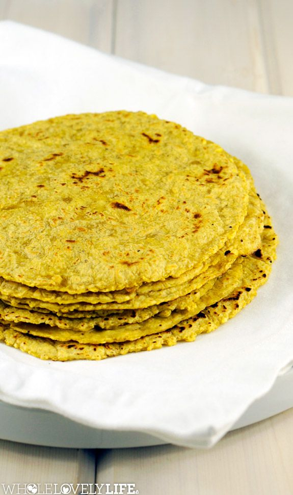 Plantain Tortillas AIP, Paleo, Gluten Free Only 2 Ingredients! www.wholelovelylife.com