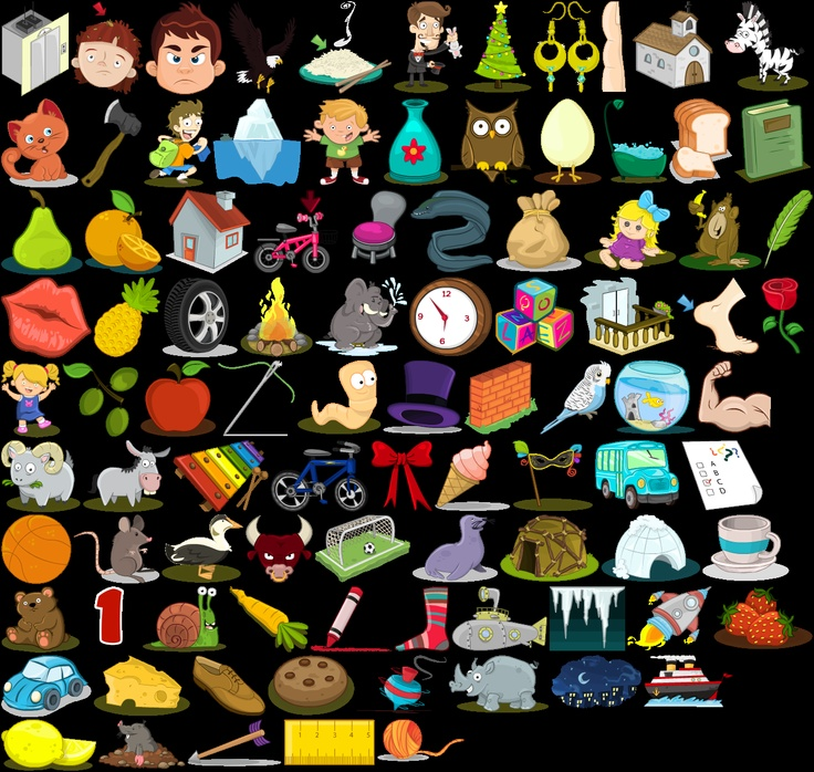 some of the illustrations used in Mniklub assignments