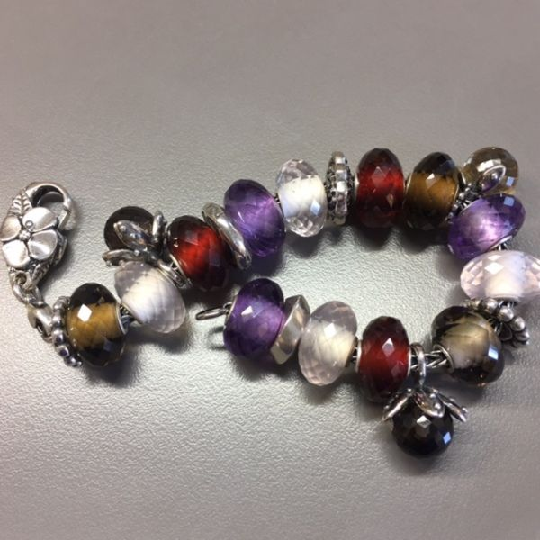 59 best images about trollbeads on pinterest pink quartz for How much does pandora jewelry pay