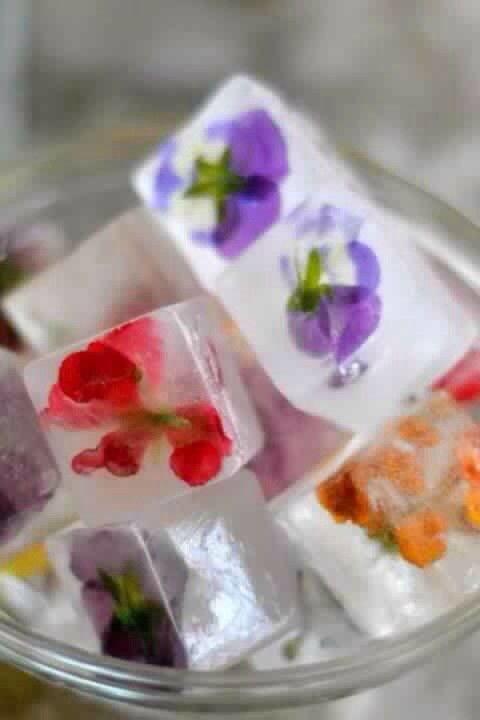 """""""Замершие"""" цветы"""