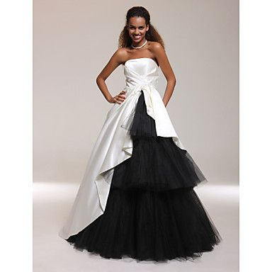 TS Couture® Prom / Formal Evening / Quinceanera / Sweet 16 Dress - Open Back Plus Size / Petite A-line / Ball Gown / Princess Strapless Floor-length – USD $ 119.99
