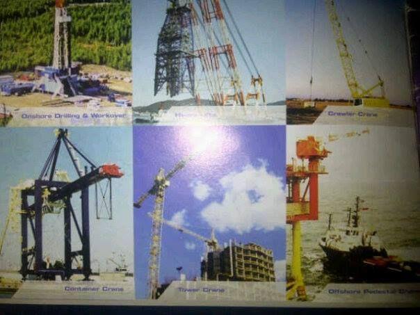 Kawat Seling Untuk Crane Konstruksi