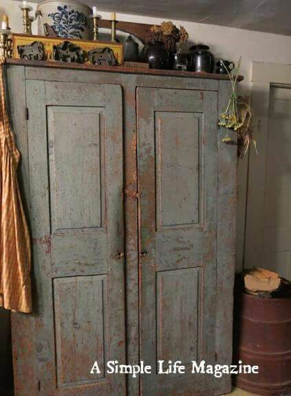 Distressed Cupboard