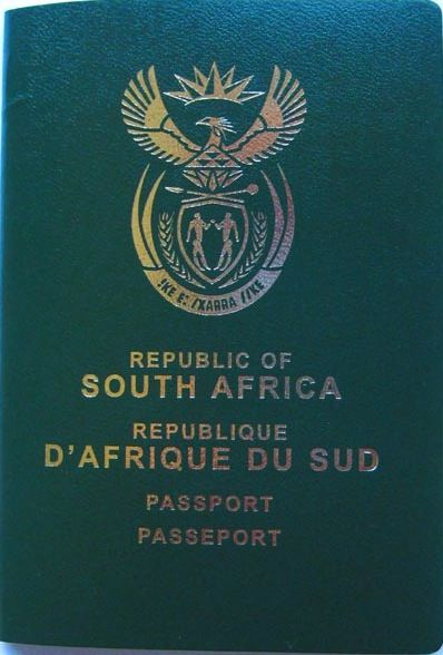 New SA passport