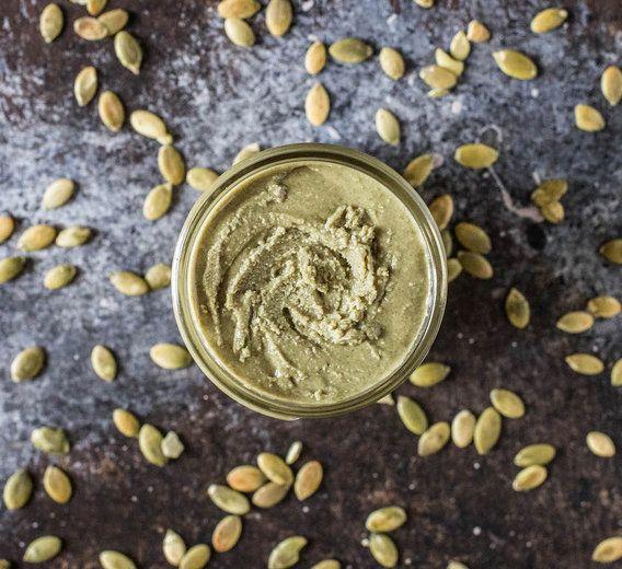 Recipe // Pumpkin Seeds + Maple Syrup + Coconut Oil + Cinnamon + Salt