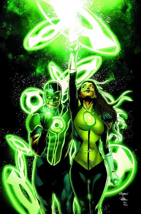 Robson Rocha - Green Lantern Corps