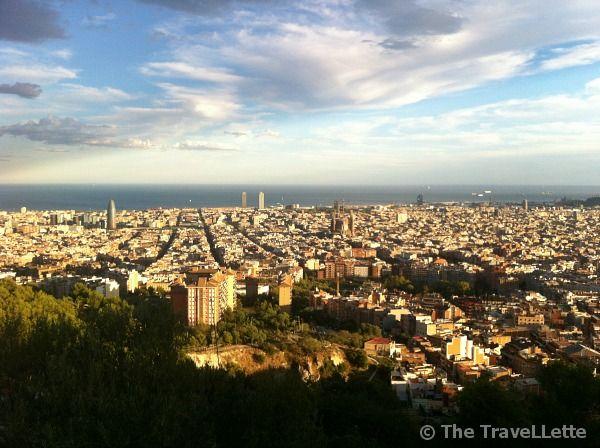 Aussicht Bunker del Camel #Barcelona  Top Geheimtipps in Barcelona: http://thetravellette.com/top-geheimtipps-fuer-barcelona/