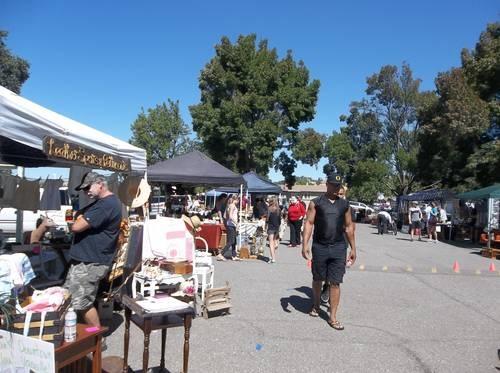 Vacaville Vintage Market 3rd Satturdays