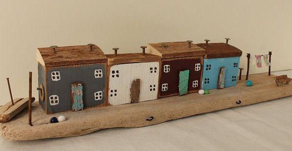 Driftwood Cottage Fisherman's Cottage Village Reclaimed by TTassel