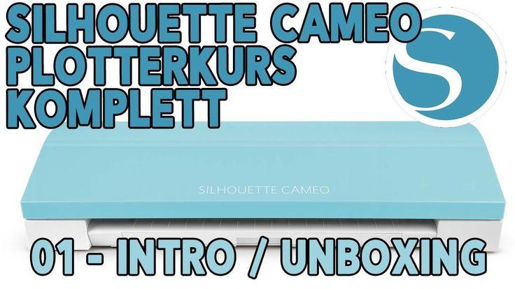 Plotterkurs für Anfänger und Profis - 01 - Intro Unboxing Cameo 3 Teal