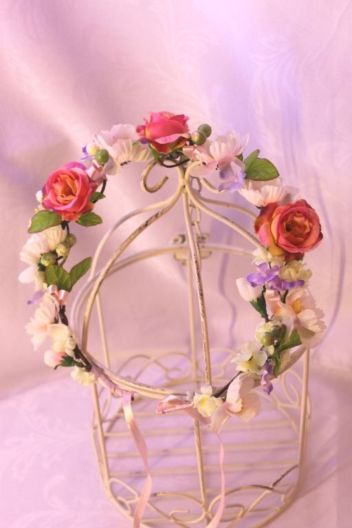head wreath handmade
