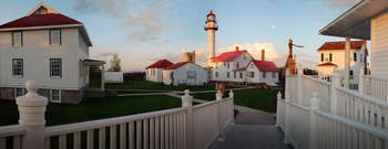 Great Lakes Shipwreck Museum - Whitefish Point Light Station - Upper Penninsula, Michigan