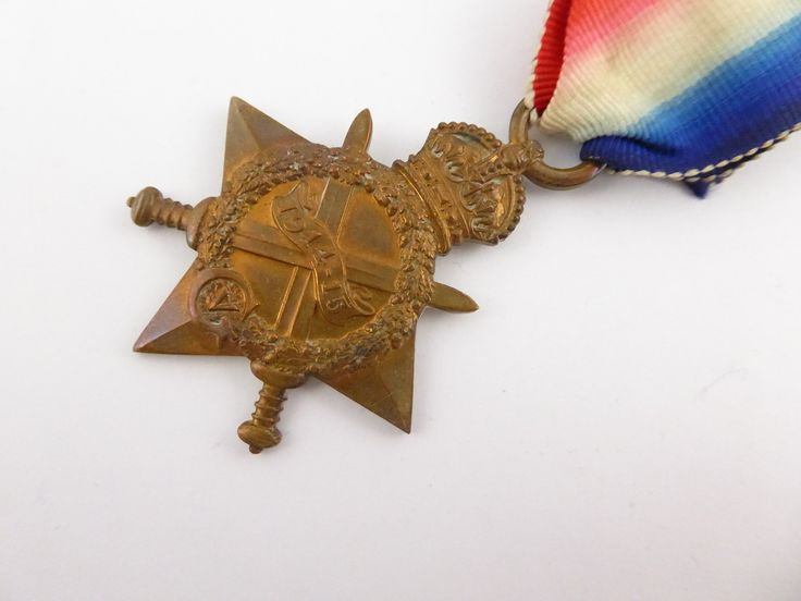 WW1 1914 - 1915 Star 5829 PTE. A Glennie 2 SCO. H. - The Collectors Bag