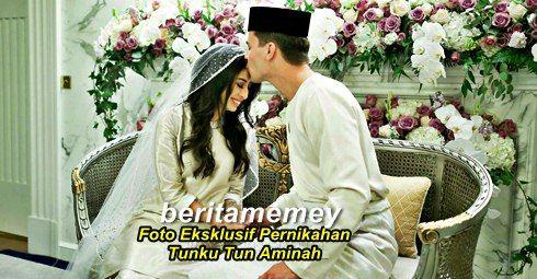 (FOTO) Lagi Gambar Eksklusif Pernikahan Tunku Tun Aminah Oleh The Royal Johor   (FOTO) Lagi Koleksi Gambar Eksklusif Pernikahan Tunku Tun Aminah Oleh The Royal Johor  Hari ini masjlis pernikahan antara puteri Johor Tunku Tun Aminah dengan jejaka Belanda bernama Dennis telah selamat dijalankan. Lihat 30 foto pernikahan pasangan ini (DI SINI). Kali ini ada lagi gambar eksklusif yang dimuantaik oleh laman The Royal Johor. Jom layan:TUNKU TUN AMINAH KINI BERGELAR ISTERI DENNIS MUHAMMAD Puteri…