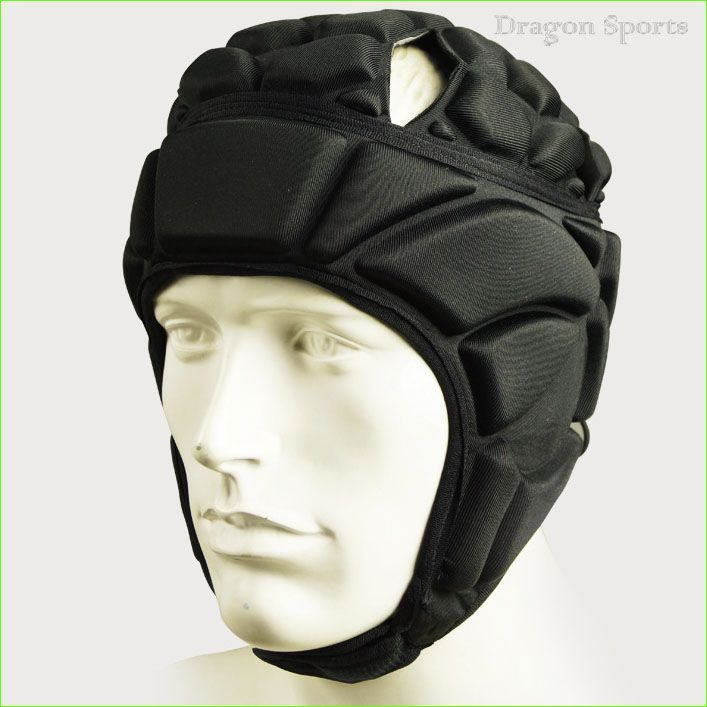Rugby Football Soccer Safety Helmet Elastic EVA Head Protector Gear Black Adjustable Size - http://sportsgearmall.com/?product=rugby-football-soccer-safety-helmet-elastic-eva-head-protector-gear-black-adjustable-size