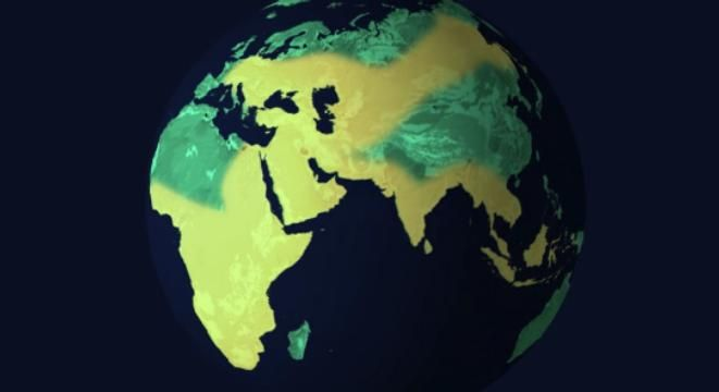 Watch How Human Population Has Spread Across The Globe Over The Past 200000 Years
