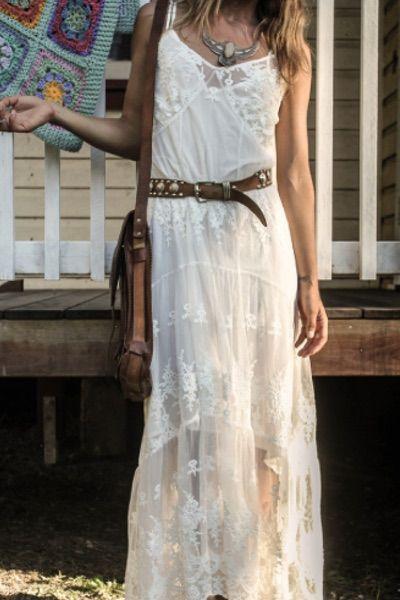 WHITE BOHEMIAN STORE Spell   Ophelia Maxi dress   Byron Bay Fashion https://whitebohemian.com.au/product/spell-ophelia-maxi-dress-off-white/