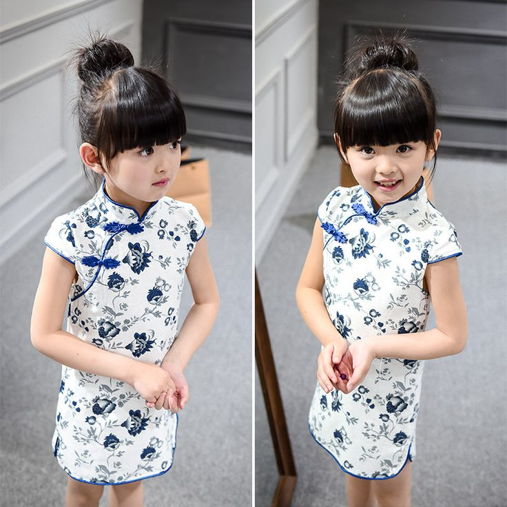 C$ 7.86 Pas cher 2016 Kids Girl Dress Sleeveless Floral Girl Dresses Child Chinese traditional Costume Chi pao Cheongsam Baby Clothes Qipao LH239, Acheter  Robes de qualité directement des fournisseurs de Chine:2016 Summer New Hot Children Clothing Girls Cherry Dress Baby Girls Dress Bow-knot Clothing Kids dress Girl clothing Cos