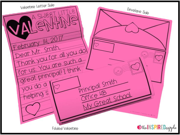 Teaching letter writing to kindergarten, first grade, and second grade students is even more fun and engaging with this Valentine Day activity! Your students will love selecting a staff member to send a poster-sized Valentine to, all while learning the pa