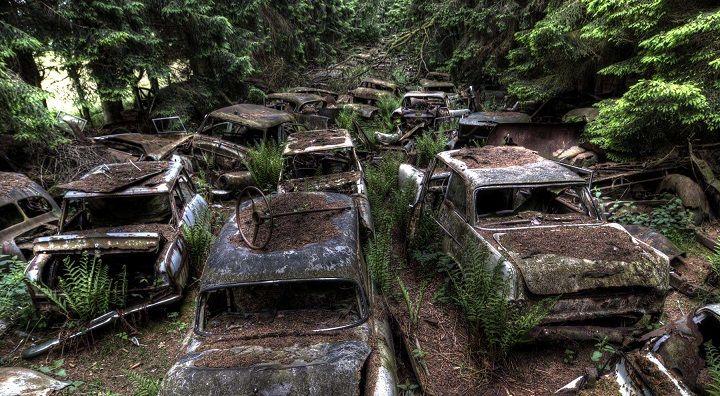 ¿Conoces el atasco de coches abandonados de Chatillon?