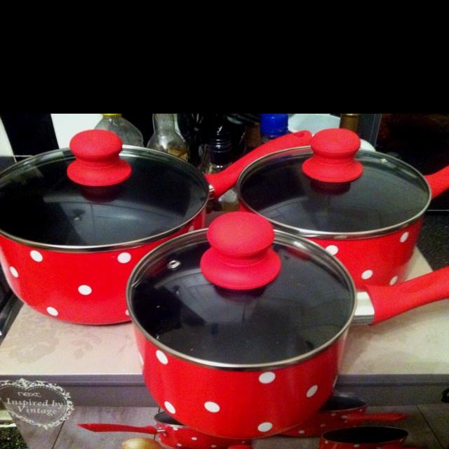New pans.