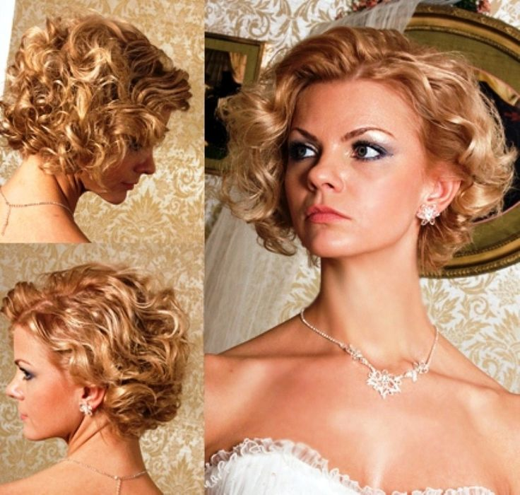 Short Curly Hairstyles Wedding: 78 Best Hairstyles Images On Pinterest