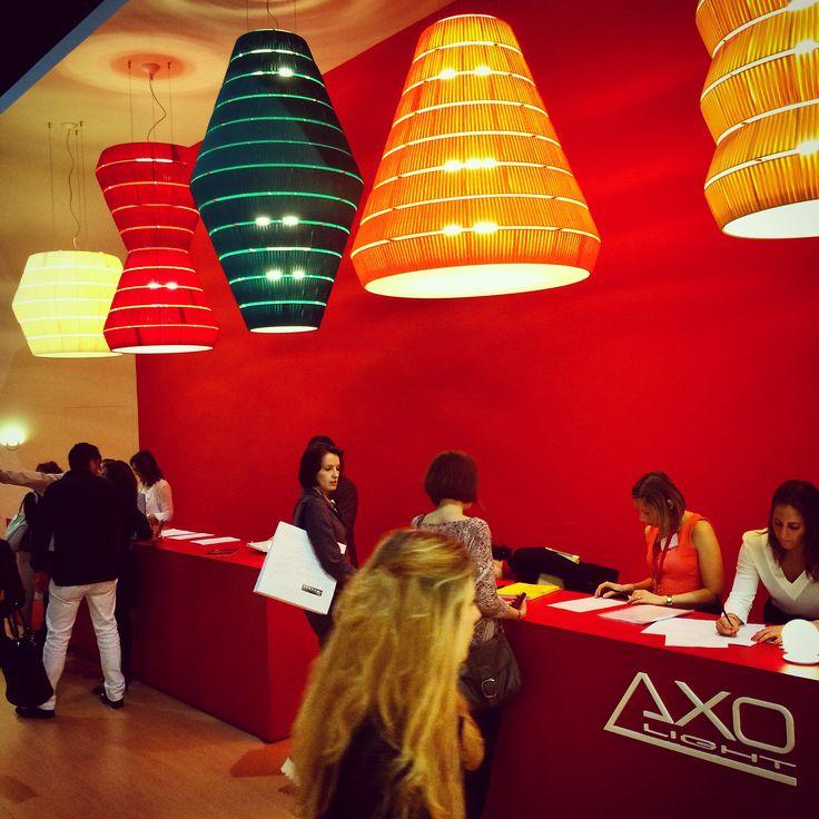 @AxoLight (Atas Lighting partener) has a impressive presence at #euroluce2015 #euroluce #milandesignweek #salonedelmobile #lighting #luce #lighting #lightingdesign