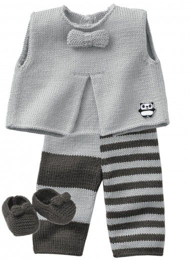 Mag 160 - #13 - Vest, trousers and bootees Patterns