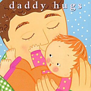 I love reading to our daughter! Daddy Hugs (a Classic Board Book) by Karen Katz was one of her early favorites. It's a great Father's Day gift for the new dad, by the way.