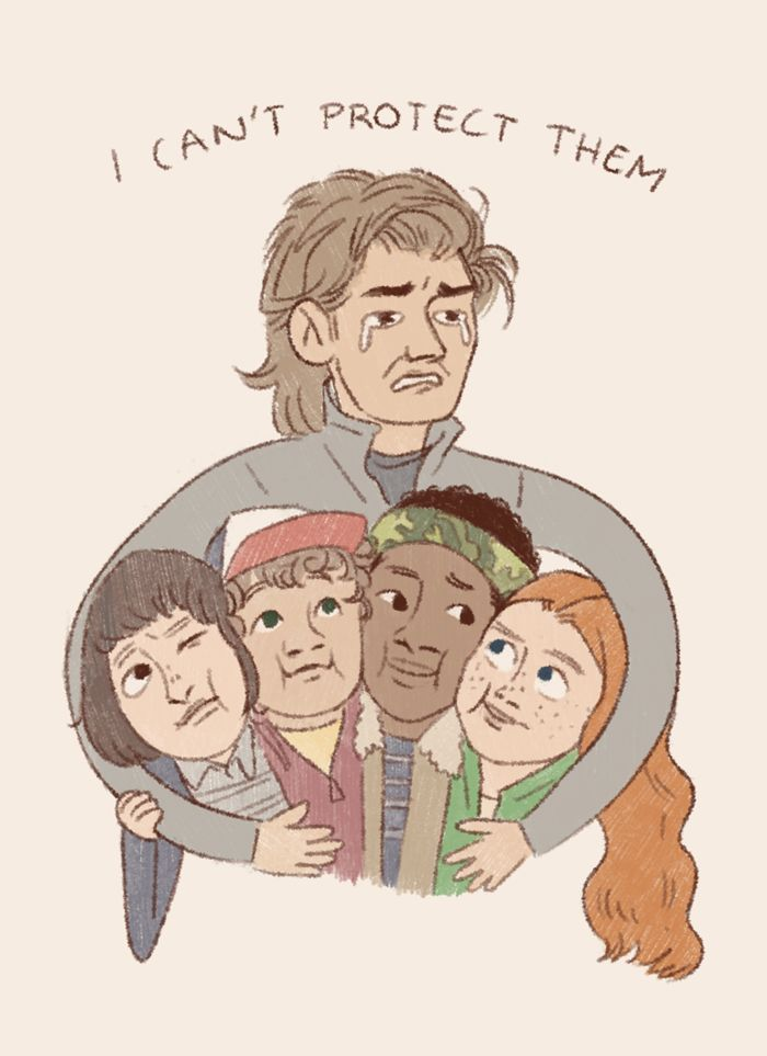 Yes you can Steve A father never leaves their kids behind