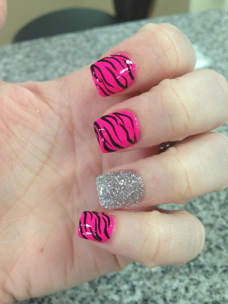 Zebra nails love these